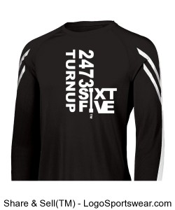 Mens Flux Long Sleeve Shirt Design Zoom